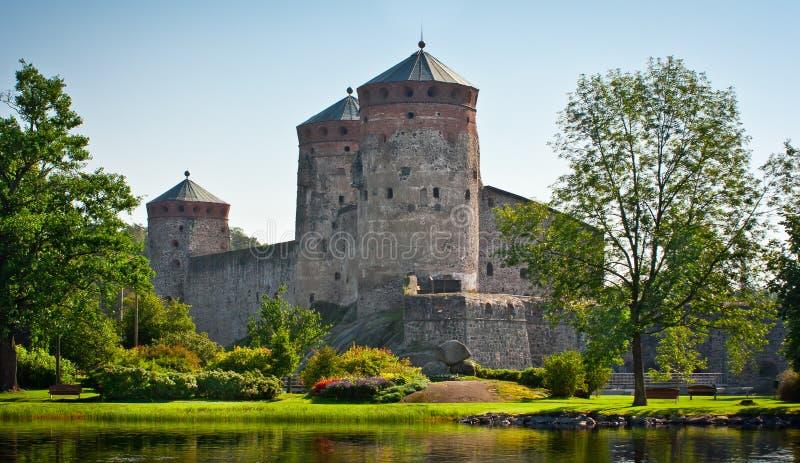 Château d'Olavinlinna images stock