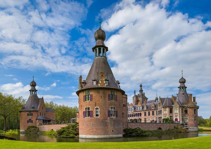 Château d'Ooidonk en Belgique photos stock