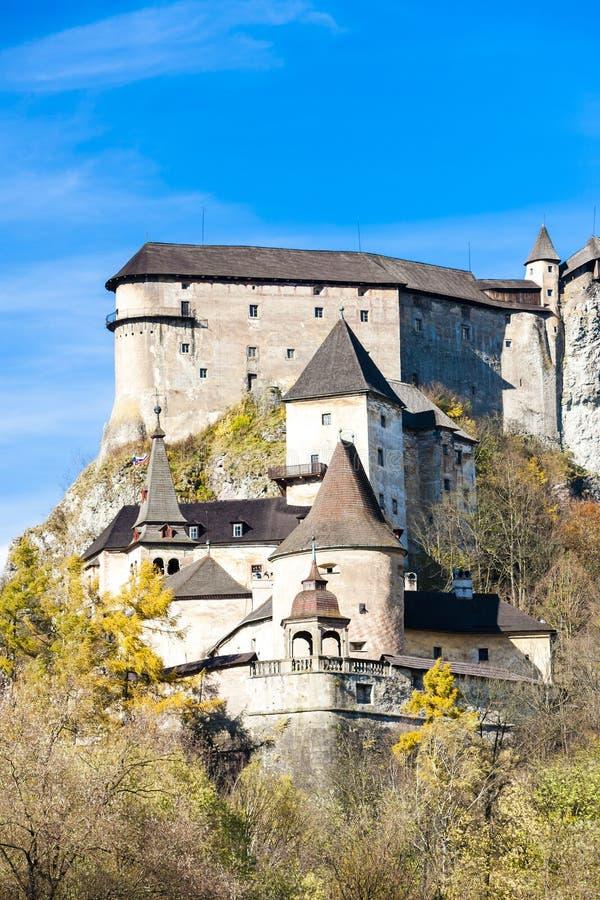 Château d'Oravsky images libres de droits