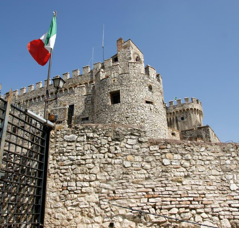 Château d'Orsini dans Nerola photographie stock libre de droits