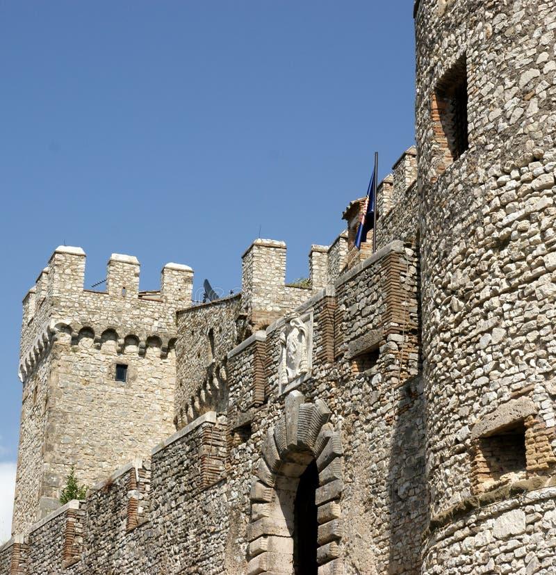 Château d'Orsini dans Nerola photo libre de droits