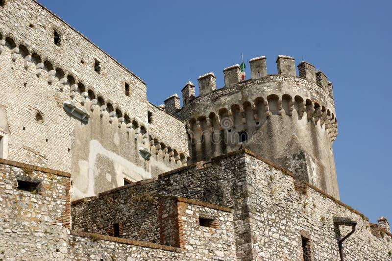 Château d'Orsini dans Nerola photographie stock