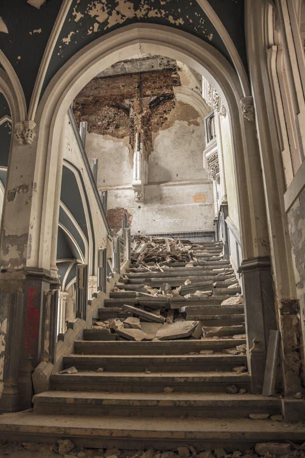 Château d'Urbex photo libre de droits