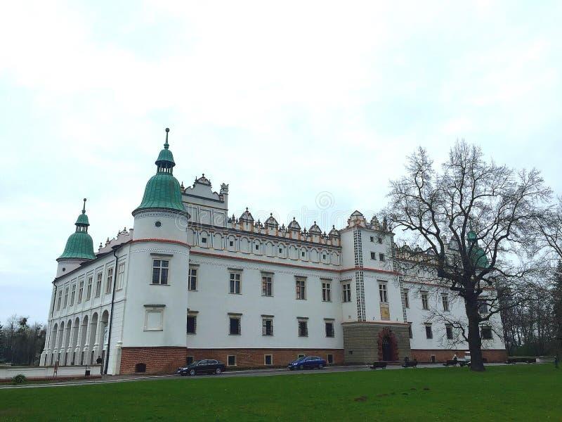Château dans Baranow Sandomierski (Pologne) photos libres de droits