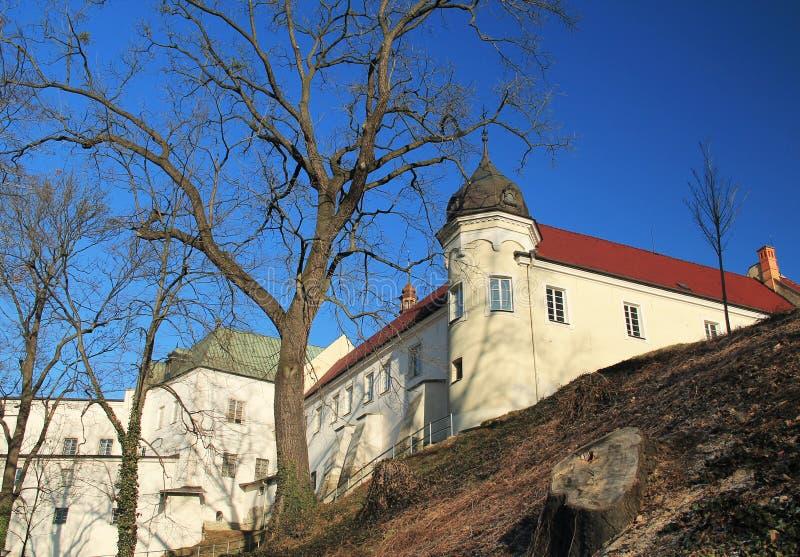 Château dans Frydek-Mistek image libre de droits