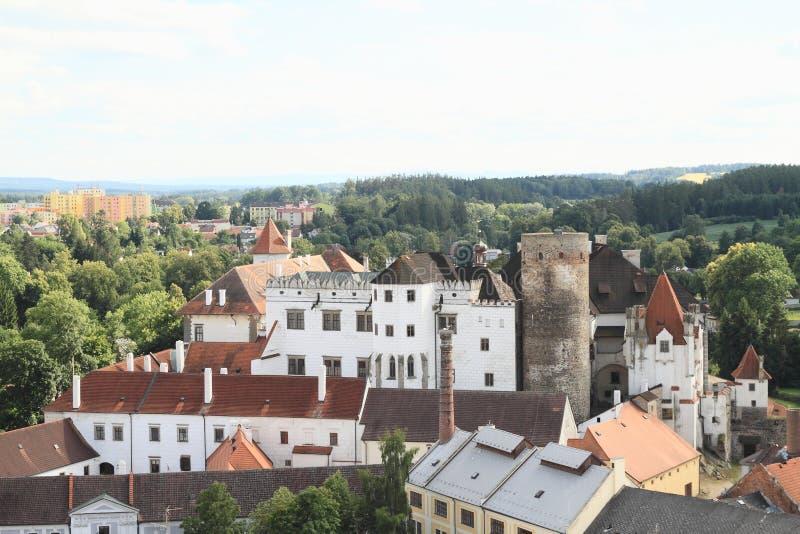Château dans Jindrichuv Hradec images libres de droits