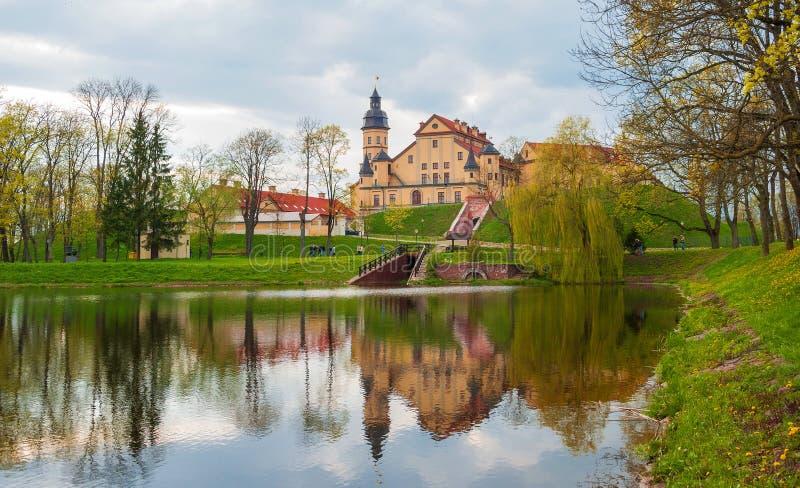 Château dans Nesvizh photos stock