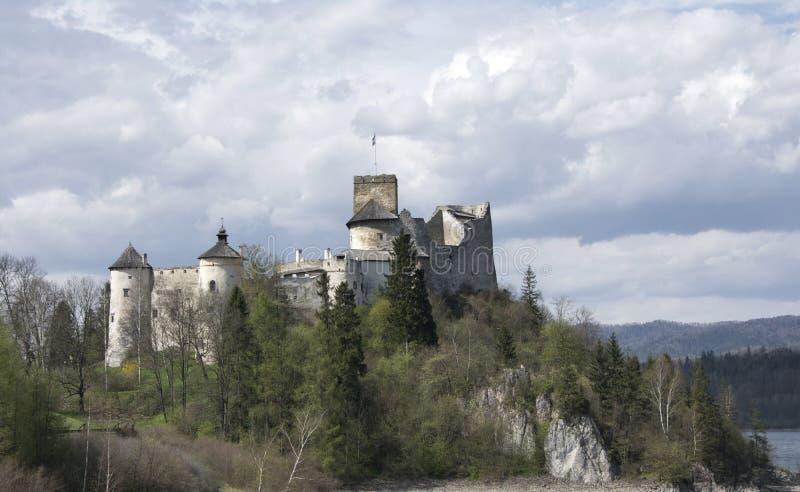 Château dans Nidzica photographie stock libre de droits