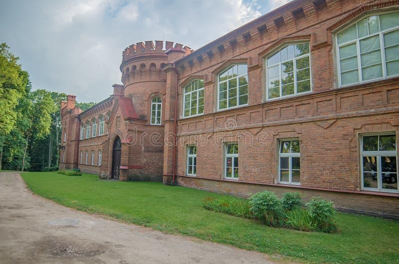 Château dans Raudone images libres de droits