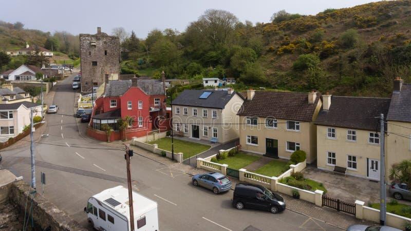 Château de Ballyhack comté Wexford l'irlande images libres de droits