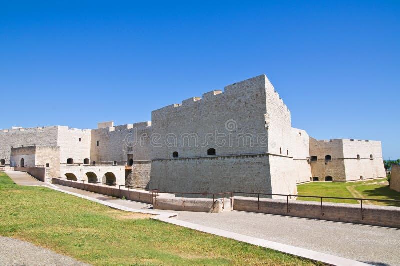 Château de Barletta. La Puglia. L'Italie. photo stock