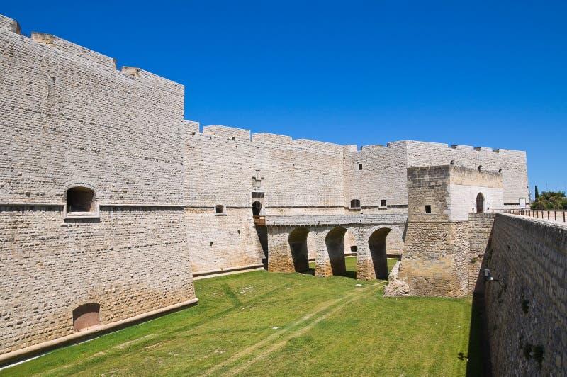 Château de Barletta. La Puglia. l'Italie. photographie stock