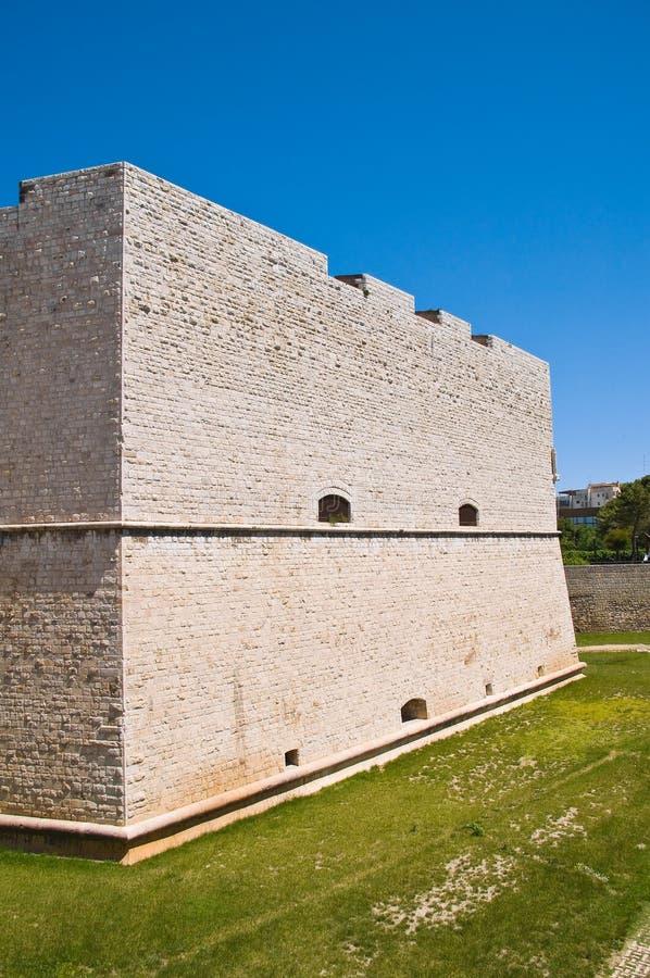 Château de Barletta La Puglia l'Italie photographie stock libre de droits