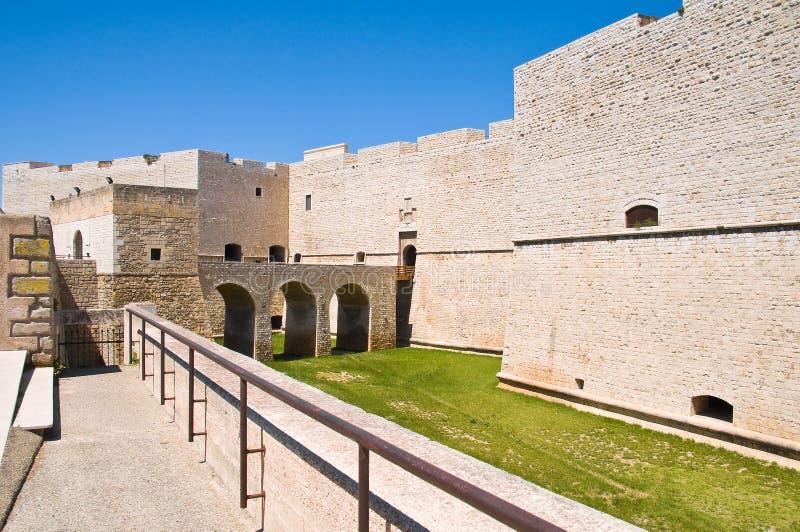 Château de Barletta La Puglia l'Italie photographie stock