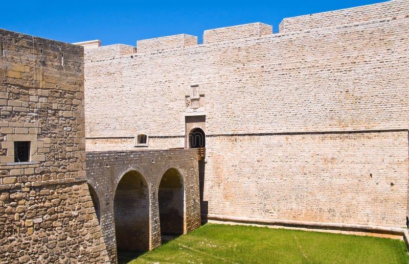 Château de Barletta La Puglia l'Italie photos stock