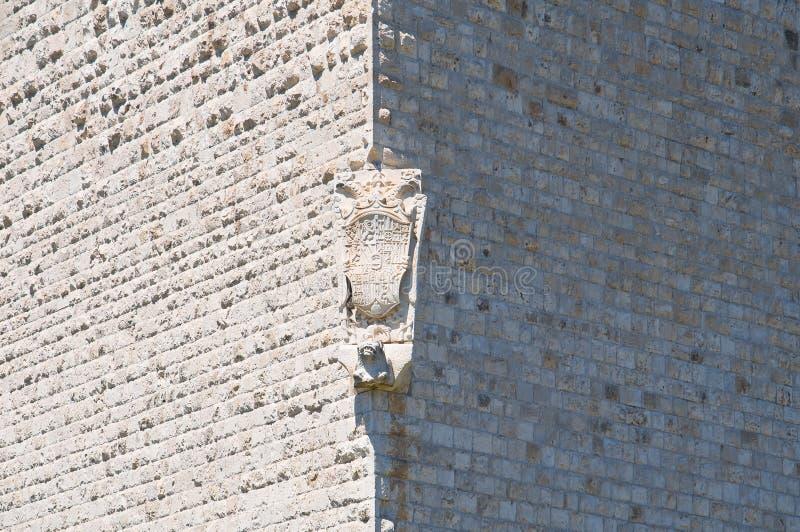 Château de Barletta La Puglia l'Italie images stock