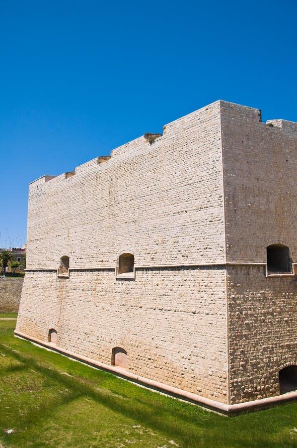 Château de Barletta La Puglia l'Italie image libre de droits