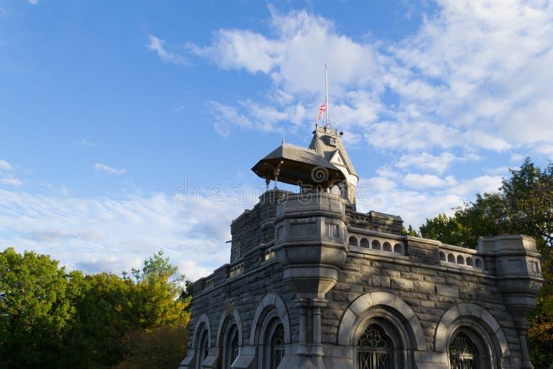 Château de belvédère en automne image libre de droits