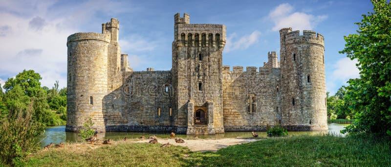 Château de Bodiam en Angleterre photo stock