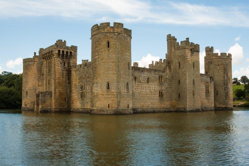 Château de Bodiam, Bodiam, Kent, R-U photo libre de droits