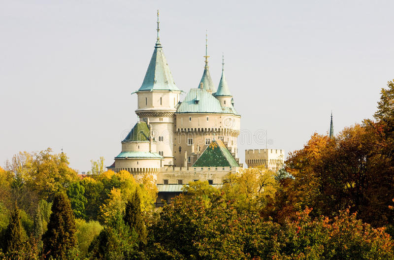 Château de Bojnice photos stock