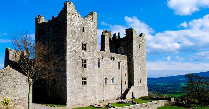Château de Bolton photographie stock libre de droits