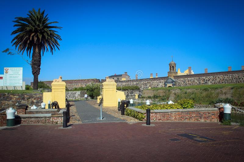 Château de bonne vue d'espoir, Cape Town images libres de droits