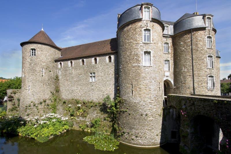 Château de Boulogne-sur-Mer photos libres de droits