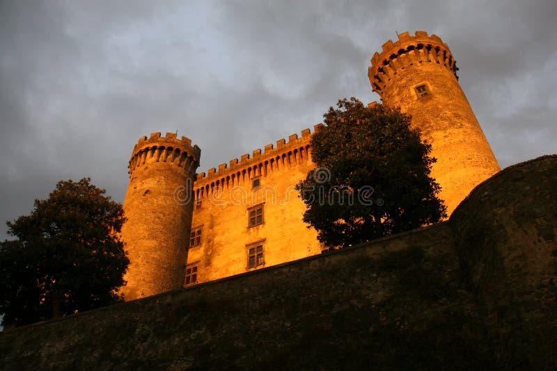 château de bracciano photographie stock