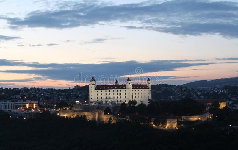 Château de Bratislava, Slovaquie photos stock