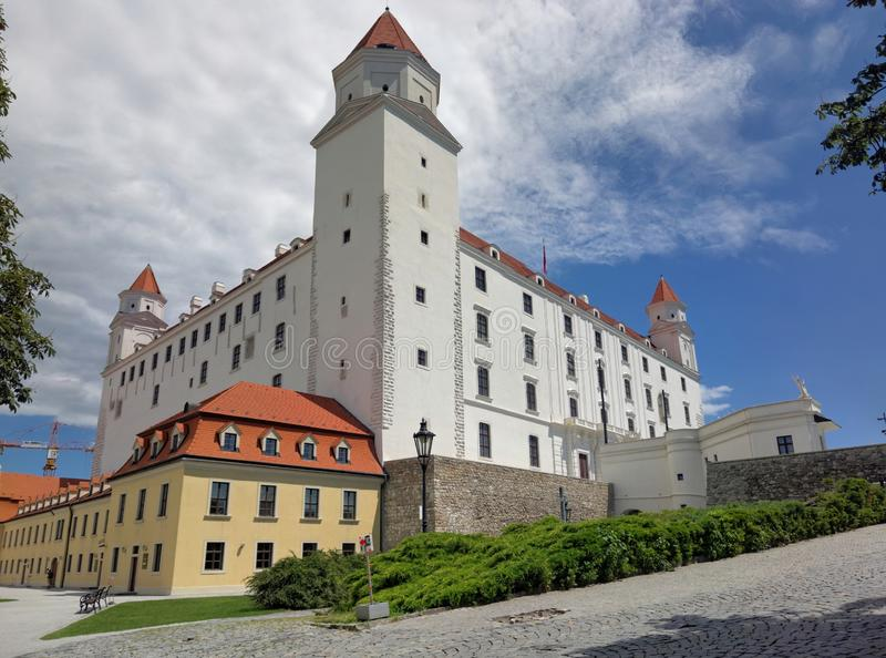 Château de Bratislava, Slovaquie photographie stock
