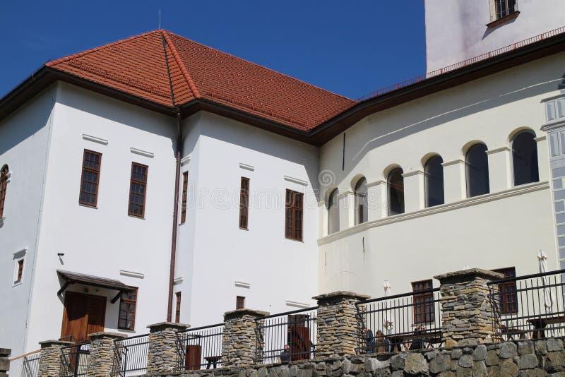 Château de BudatÃn, région d'ilina de ½ de Å image libre de droits