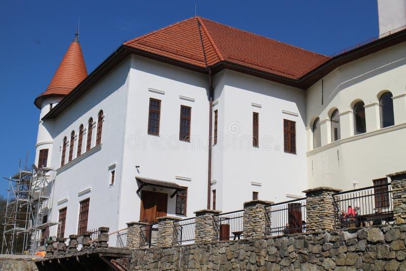 Château de BudatÃn, région d'ilina de ½ de Å image stock