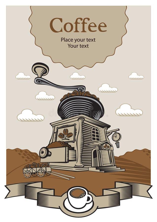 Château de café illustration libre de droits