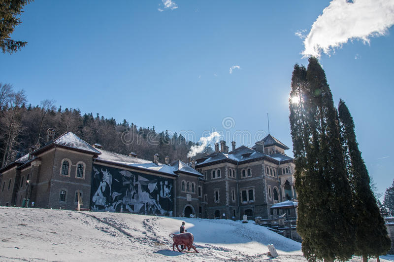 Château de Cantacuzino photos stock