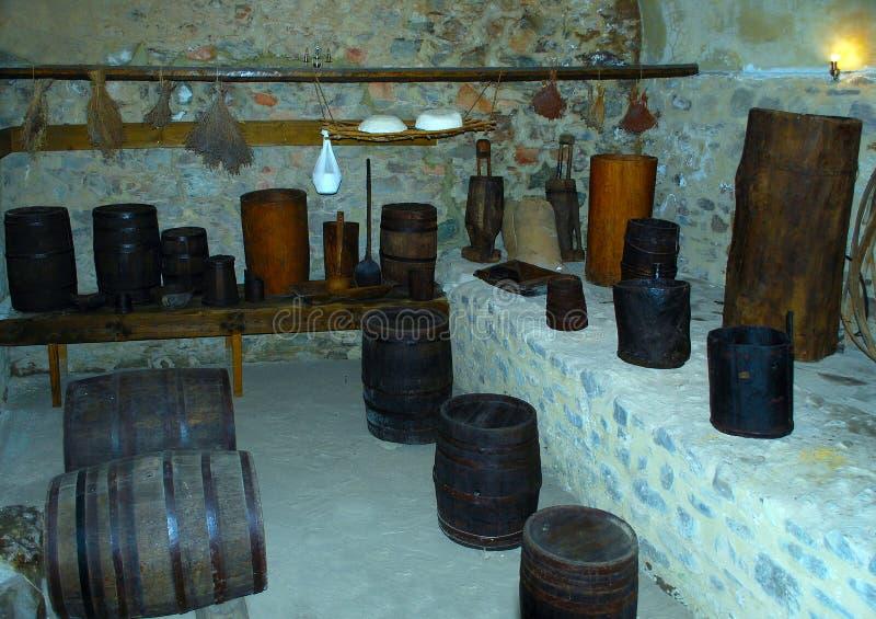 Château de cave photos stock