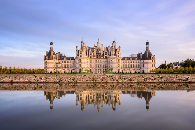 Château de Chambord fotografia de stock royalty free