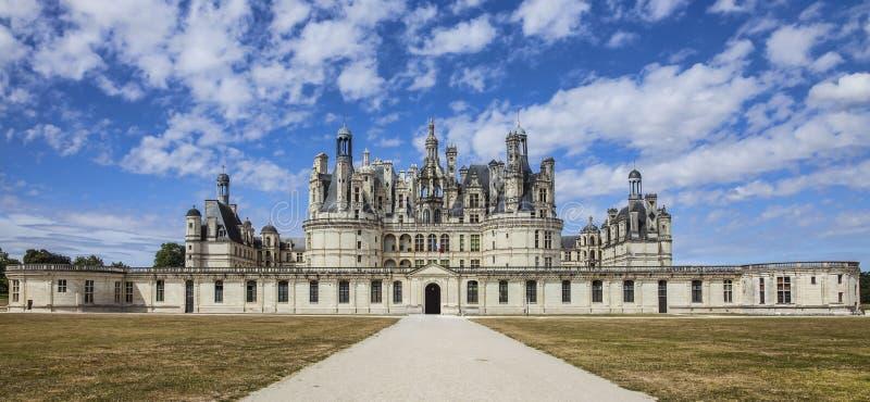 Château de Chambord image libre de droits