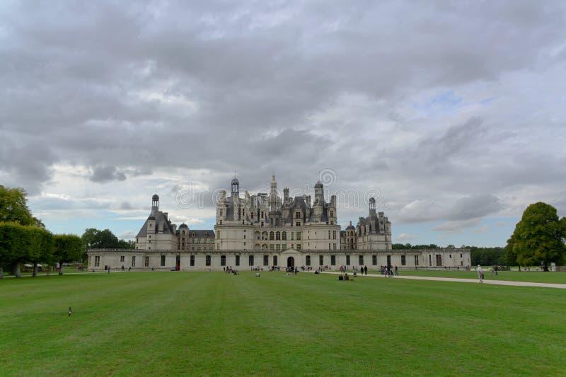 Château de Chambord fotografia de stock