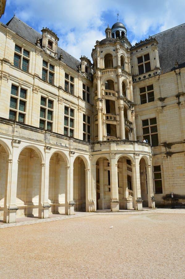 Château de Chambord immagini stock libere da diritti