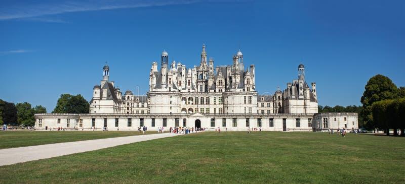 Château de Chambord dans le Val de Loire photo stock