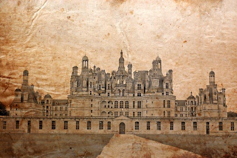 Château de Chambord, France image libre de droits