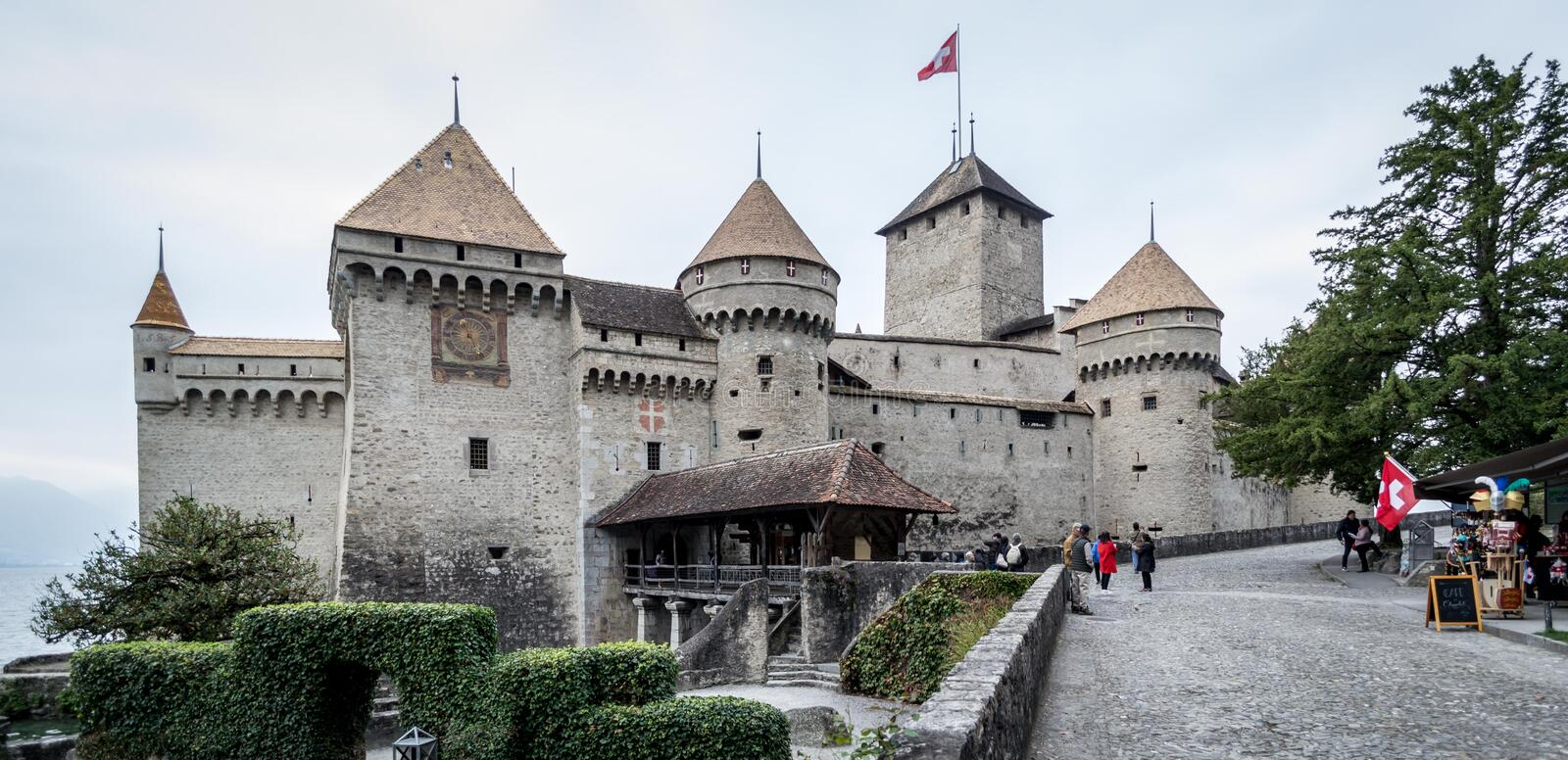 Château de Chillon photos stock