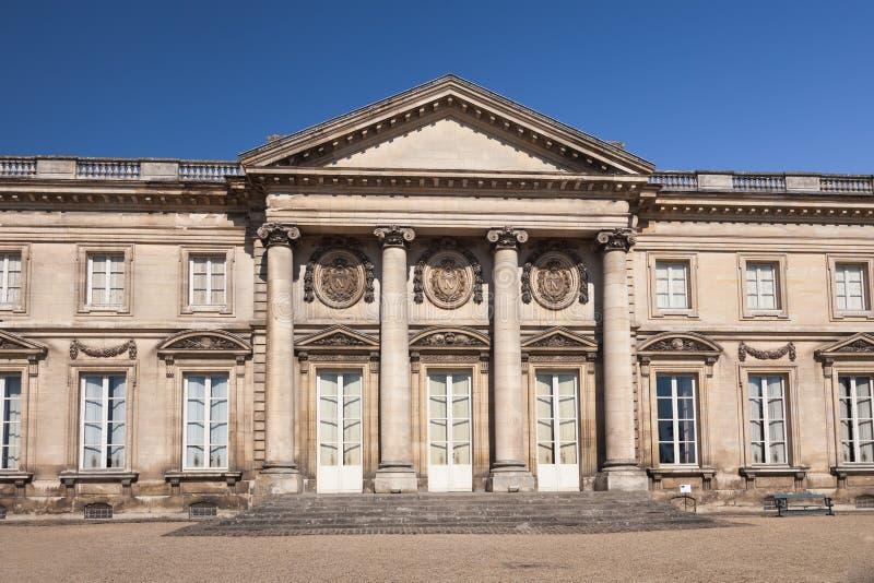 Château de Compiegne en Oise photographie stock libre de droits