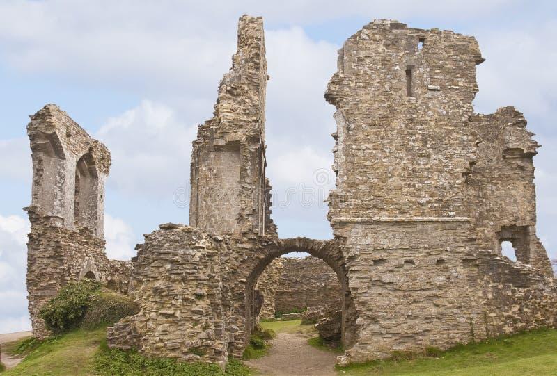 Château de Corfe images libres de droits