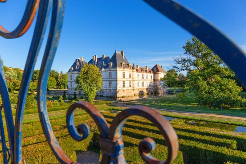 Château de Cormatin en Bourgogne, France photos libres de droits