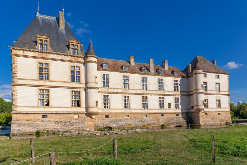 Château de Cormatin en Bourgogne, France images stock