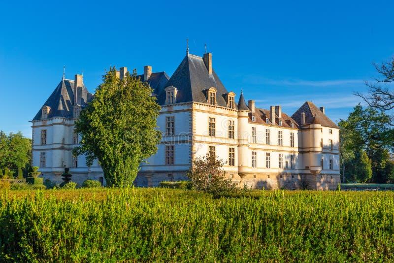 Château de Cormatin en Bourgogne, France photographie stock