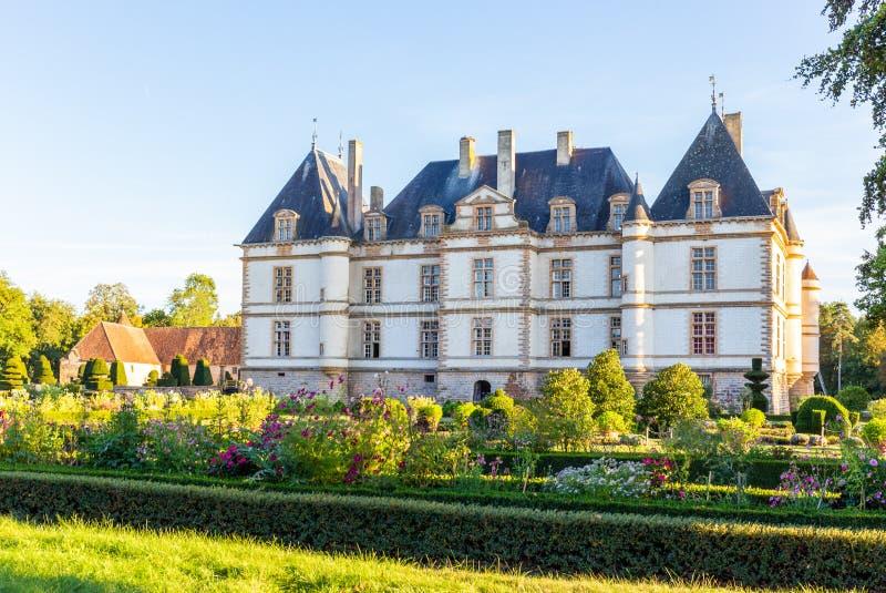 Château de Cormatin en Bourgogne, France photos stock