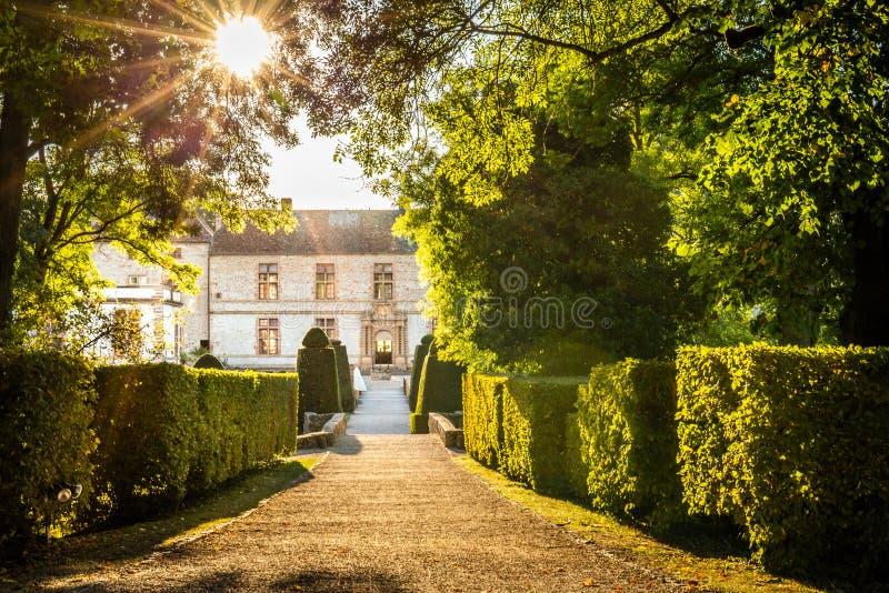 Château de Cormatin en Bourgogne, France photo libre de droits